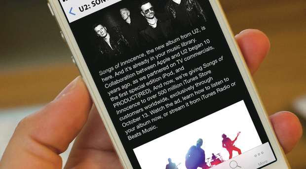 Mysterious ways: U2's latest album launch didn't go down too well