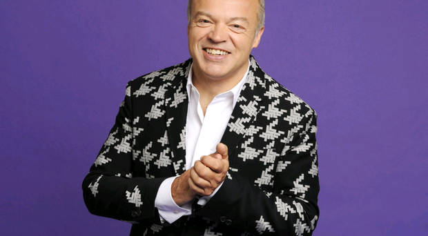He'd planned to retire at 50, but Graham Norton is having too much fun
