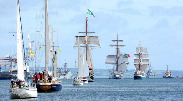 Ship ahoy: the Tall Ships race which changed Kevin McVeagh's life forever