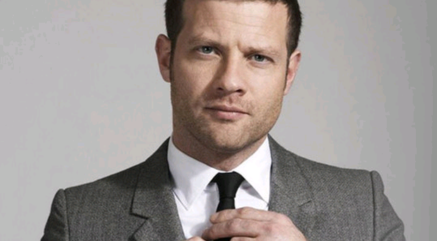 Dressed for success: Dermot O'Leary has become one of the most well-known presenters