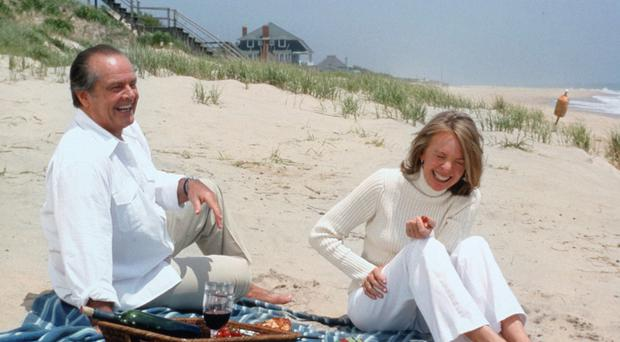 Golden age: Diana Wilkinson's new book is about finding love in your fifties, like in hit film Something's Gotta Give, which starred Jack Nicholson and Diane Keaton