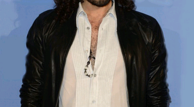 Time out: Russell Brand meditates every day