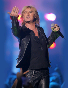 Let's get rocked: Def Leppard's Joe Elliott will be taking his new band to the Limelight this month