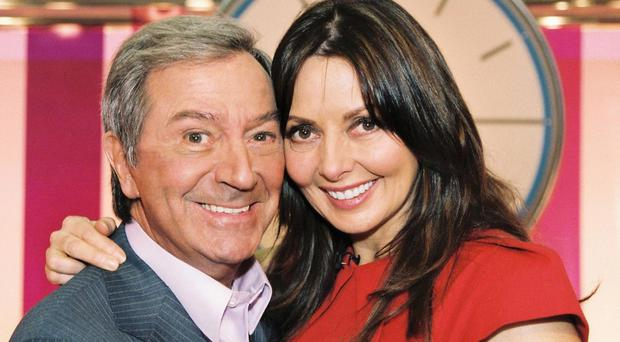Firm friends: Des O'Connor with former Countdown star Carol Vorderman. He has hosted almost 500 episodes of the Channel 4 quizshow, all while continuing to perform live gigs around the UK