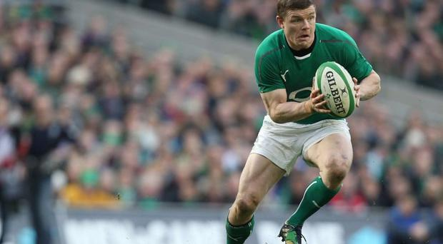 Tackling it: celebs like Brian O'Driscoll would be ideal for anti-booze campaigns