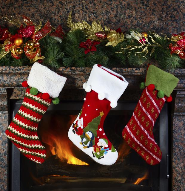 Did children everywhere hang up their stockings by the fireplace this Christmas and leave shortbread and milk for Santa?