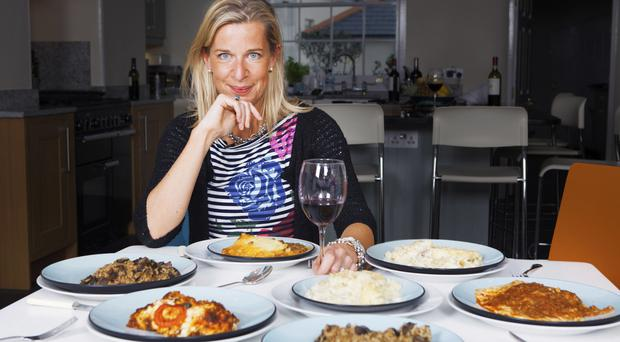 Tough task: Katie Hopkins piled on the pounds to prove losing weight isn't hard