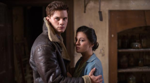 Taking flight: Jeremy Irvine with Phoebe Fox in Woman in Black, Angel of Death