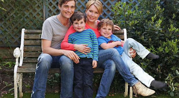 Proudest achievement: meeting Billy and having their sons, Oscar and Isaac, brought Kate Gross her greatest joy