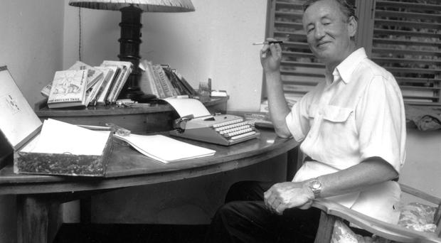 Out of this world: Ian Fleming, who wrote Moonraker