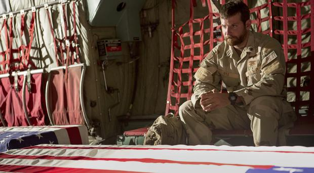 On a mission: Bradley Cooper gives a typically solid performance in American Sniper