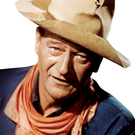 John Wayne portrayed the often violent life of a cowboy in Wild West