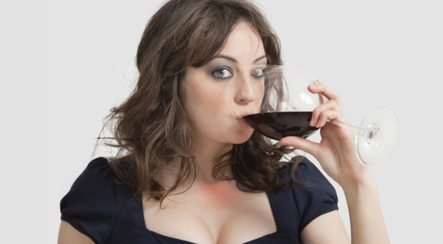 Extreme measures: it may only be a glass of wine or two in the evening, but experts have warned that our excess drinking is getting worse