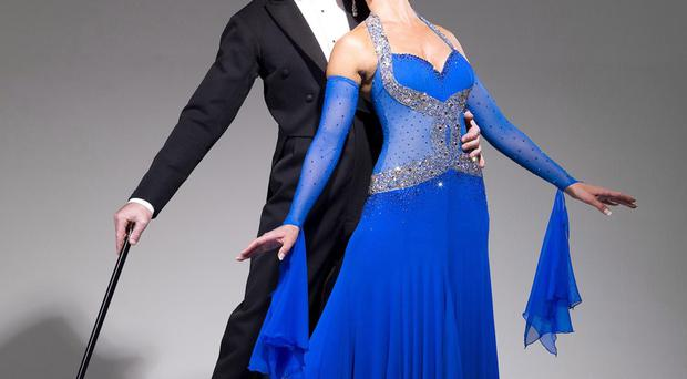 Dance stars: Erin Boag and Anton du Beke