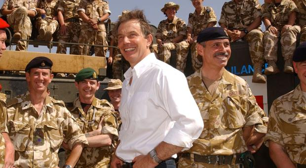 Front line: the findings of the inquiry into the 2003 invasion of Iraq, when Tony Blair was the Prime Minister, have been further delayed