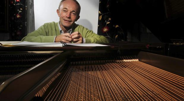 Musical journey: Philip Hammond's Piano Concerto is being performed tomorrow in Dublin's National Concert Hall
