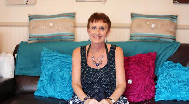 Tireless campaigner: Una Crudden at home
