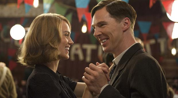 Dance code: Keira Knightley and Benedict Cumberbatch in The Imitation Game