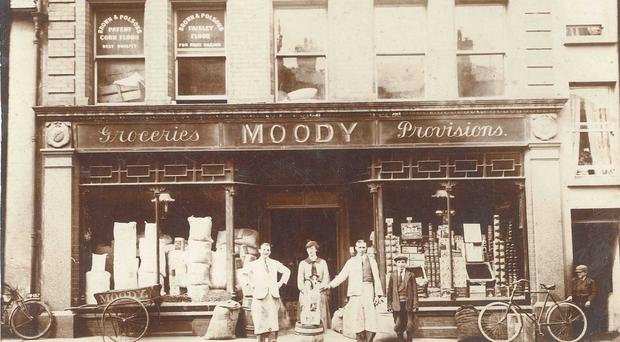 Proud tradition: Moody's grocery store of Coleraine