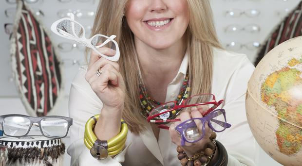 Seeing clearly: Gillian Gervais is heading to Africa to help people with eyesight problems