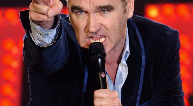 Morrissey will play the Odyssey Arena, Belfast on Tuesday