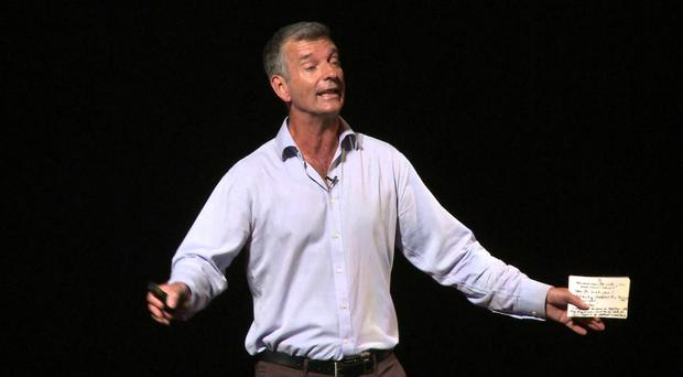 Just for laughs: comedian Tony Hawks, who has appeared on shows such as Have I Got News For You