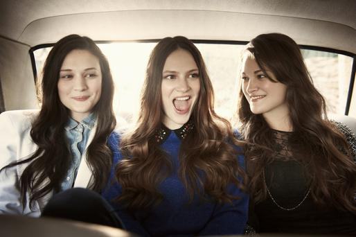 Sibling unity: The Staves are enjoying life on the road