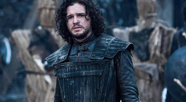 Not impressed: Game of Thrones actor Kit Harington caused a row with comments about Belfast, as did HBO man Michael Lombardo