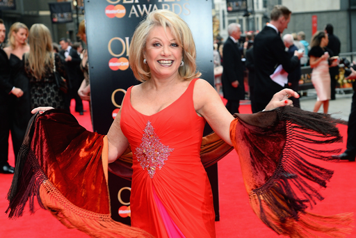 Show time: singing star Elaine Paige