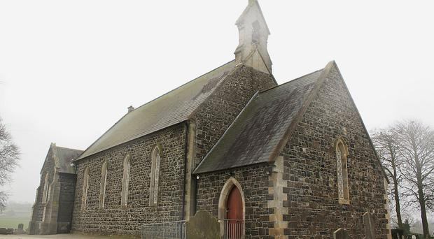Holy row: Knocknamuckley Church is at the centre of an unedifying split