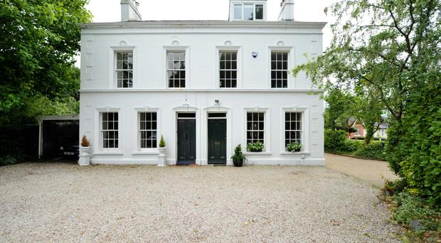This handsome period home with modern touches dates back to the 1800s and is situated in a great location in Victoria Road, Holywood