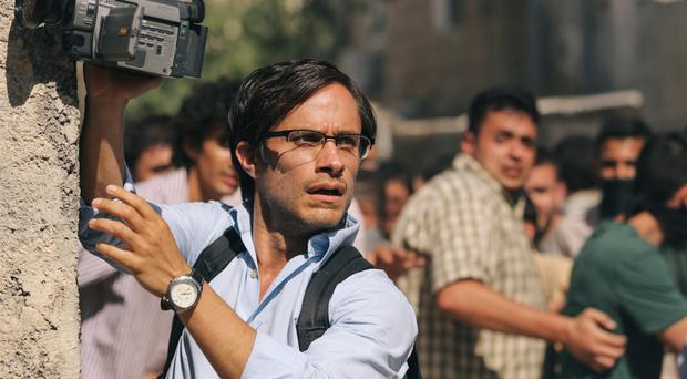 Serious stuff: Gael Garcia Bernal as journalist Maziar Bahari, imprisoned in Iran and accused of spying