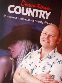Country boy: breakfast radio show host Jason Hughes