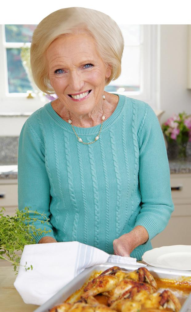 Grub's up: Mary Berry still sees herself as a family cook