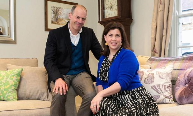 All change: Phil Spencer and Kirsty Allsopp upgrades people's homes