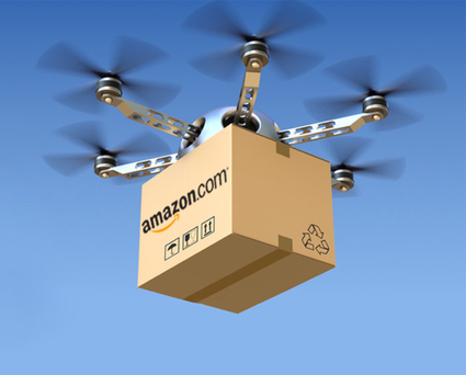 Winging it: propeller-driven machines will be able to take parcels directly to the buyer