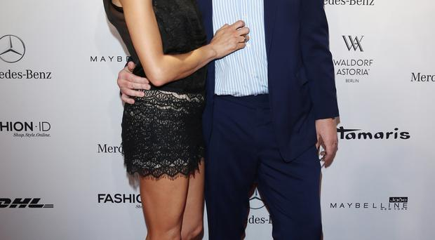 Love match: Boris Becker with wife Lilly Kersenbergnberg