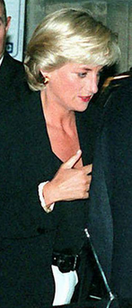 Final hours: Diana, Princess of Wales, leaving the Ritz in Paris