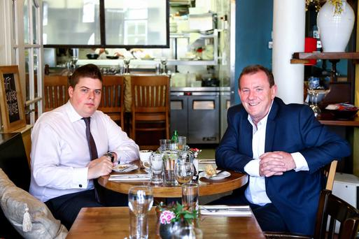 Table talk: John Mulgrew chats to meat entrepreneur Peter Hannan at Ginger Bistro in Belfast