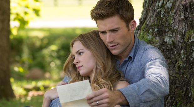 Love letter: Scott Eastwood and Britt Robertson in the Longest Ride