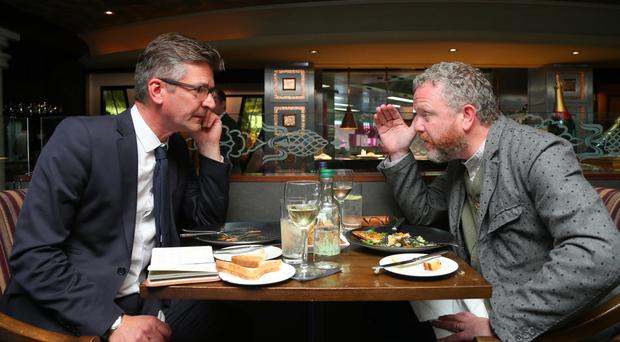 Joris Minne and Colin Davidson dine at The Old Inn, Crawfordsburn