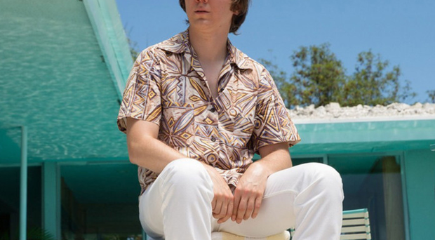 Surf's up: Paul Dano as the band's frontman Brian Wilson