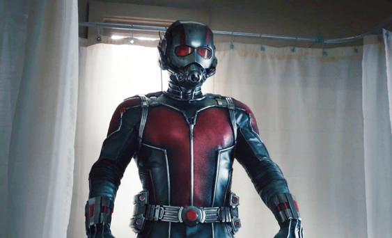 Winning role: Paul Rudd as Ant-Man