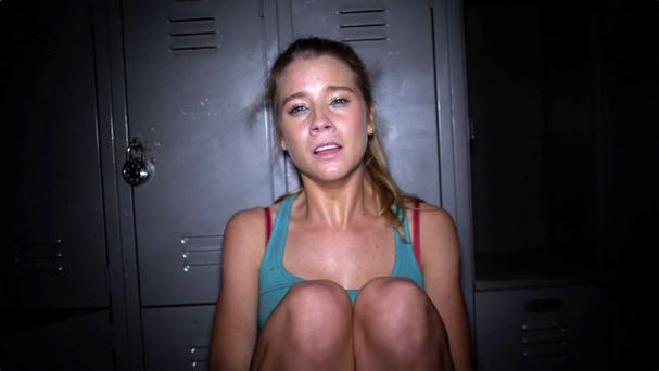 Fear factor: Cassidy Gifford in the The Gallows, which is a poor offering from producer Jason Blum