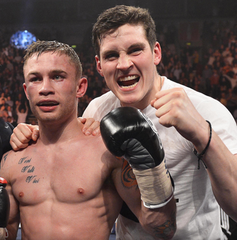 Carl Frampton and Shane McGuigan