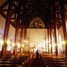 Seeking solace: whenever a major tragedy takes place many people seem to gravitate towards a church