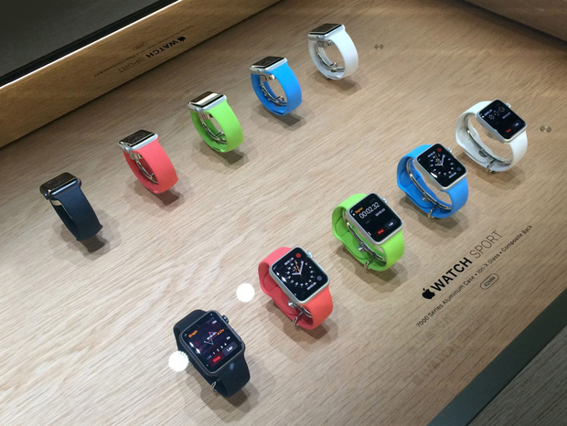 Bite-sized: the Apple Watch has proven a success story, according to the company at least