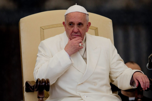 Tough task: Pope Francis is keen to reform the Vatican, but vested interests are opposed to change