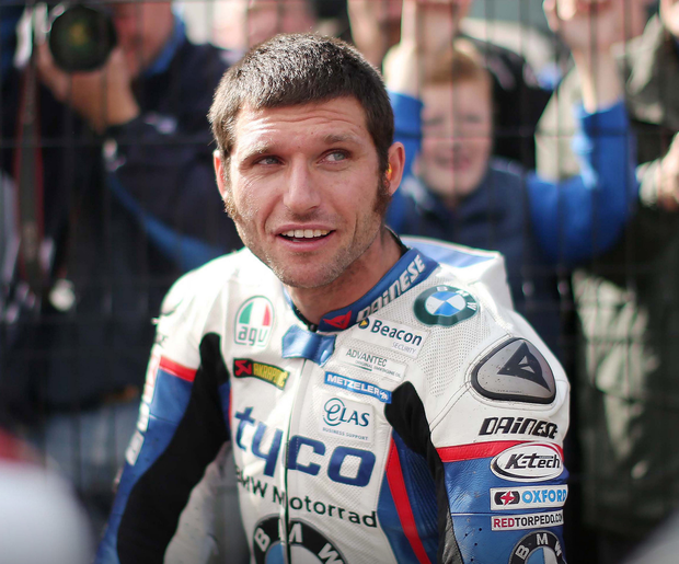 Road racer Guy Martin