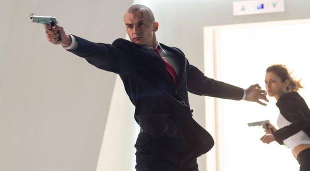 Lacking thrills: Rupert Friend as Agent 47